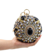 Chirrupy Chief® Purses For Women Crystal Round Evening Clutch Bags