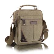 Hrph New Canvas Messenger Casual Vertical Men Bag Business Small Shoulder Messenger Bags