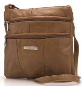 Womens / Ladies Small Genuine Leather Shoulder / Cross Body Bag