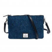 Genuine Harris Tweed Cloudberry Ladies Zip Purse Bag