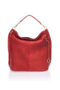'Show Some Love Federica Italian Bag Women Tote Handbag Shoulder Bag Genuine Leather Made in Italy.