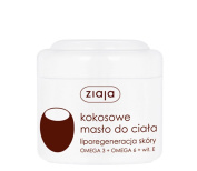 Ziaja Coconut Body Butter 200ml for dry, very dry and normal skin