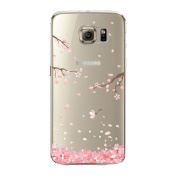 Samidy Galaxy S7 Edge Case, Clear Silicone Back Cover for for  for  for Samsung   Galaxy S7 Edge with a Screen protector