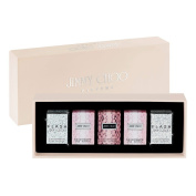 Jimmy Choo Miniatures (2x 4.5ml EDT, 2x 4.5ml Flash EDP, 1x 4.5ml EDP).
