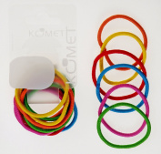 Elastic Hair Band Coloured Big 12 Pcs 355