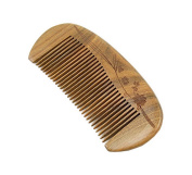 Beard Comb Wooden Comb Medium Tooth Green Sandalwood Comb Small Hair Comb Hair Brush