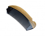Hair Care Green Sandalwood Comb Teeth Anti-Static Head Massage