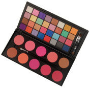 Fashion gallery 42 Double Stack Shimmer Eyeshadow & Blush Palette Eye Shadow Makeup Brush
