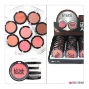 24 x BLUSH BLUSHER SET DISPLAY BOX 8 SHADES WHOLESALE JOB LOT UK STOCK