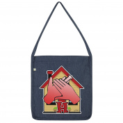 Twisted Envy Sign Language Letter H Tote Bag