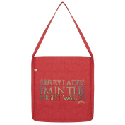 Twisted Envy Sorry Ladies, I'M In The Night Watch Tote Bag