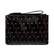 Lulu Guinness Two Face Print Medium Grace Slim Wristlet Clutch Bag Pouch - Gift Boxed - RRP £45.00