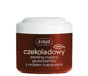 Ziaja Cocoa Butter Chocolate Graind Body Scrub 200ml for normal and dry skin