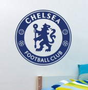 Blue Football Team CHELSEA Vinyl Football Fans Wall Stickers Art Decals Christmas Home Decor Wallpaper for Kids Boys Room Bedroom