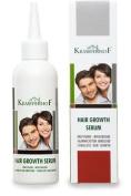 Krauterhof Hair Growth Serum with Active Ingredients - Lecithin, Panthenol, Caffeine, Biotin, Vitamin E 100 ml