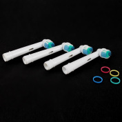 4pcs/Set Electric Toothbrush Heads SB-17A Replacement For Oral B 3D