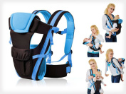 Baby Carrier Front & Back - Blue