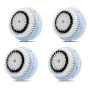 Replacement Brush Head for Delicate Cleansing (GENERIC) 4 Pack - by Quality Generix by GreenInsync