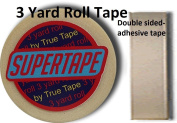 SuperTape 1.9cm wide X 270cm long of Double Side Adhesive w/plastic storage case