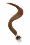 Micro Ring | Micro Loop Hair Extensions 46cm American Pride Special Warm Brown