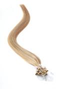 Micro Ring | Micro Loop Hair Extensions 46cm American Pride Light Brown Blonde