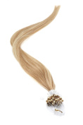 Micro Ring | Micro Loop Hair Extensions 46cm American Pride Mousey Brown / Blonde