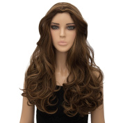 New Fashion Sexy Long Curly Full Wigs Heat Resist Women Cosplay Costume Hair