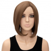 Uk Women Ladies Natural Short Bob Straight Synthetic Wig Women Party Cosplay