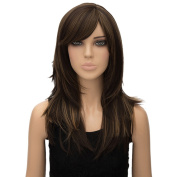 Women Long Wavy Cosplay Party Costume Full Hair Curly Heat Resist Synthetic Wigs