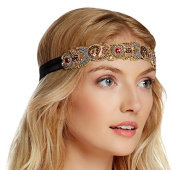 Jolie USA Colour Jewel Stretch Ribbon Headband