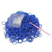 600 x Rubber Bands + 1x Hook + 24 x S Clips Bracelet Making Kits Kids Crafts DIY Toy