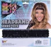 Bristol Novelties Sequin Headband One Size Black
