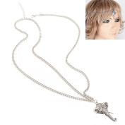 Shuohu Women Glyphs Elephant Pendant Tassel Hairband Head Jewellery