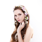 Newly arrived Rattan wreath headband for Wedding party prom