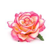 Rose Flower Hair Clip Slide Flamenco Dancer Pin up Flower Brooch