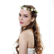 Flower Headband Crown Festival Wedding Hair Wreath BOHO Floral Headband