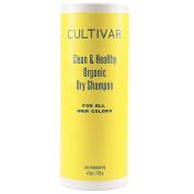 CULTIVAR Clean & Healthy Organic Dry Shampoo For All Hair Colours 130ml