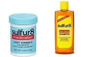 Sulphur 8 Anti-Dandruff Shampoo & Conditioner Duo Product Set