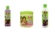 kids organics by africas best Kids Organics Cleanse, Condition And Grow Trio Set Of Products For Kids