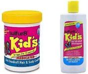 Sulfur8 Kids Medicated & Anti-Dandruff Shampoo & Conditioner For Kids
