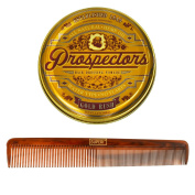 Prospectors Gold Rush Pomade, 130ml with Superi Comb