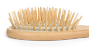 Paddle Hair Brush - Dry Scalp Bamboo Paddle Brush for Hair Detangler, Dandruff Scalp, Travel size by Beyond 100 Naturals