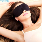VANORIG Professional 3 D Eye Mask, Super Smooth Sleep Mask, Comfortable Sponge Blindfold for Travel,Shift Work & Meditation, Pack of 1
