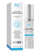 Advanced Retinol Cream with Hyaluronic Acid - The Best Anti-Ageing Night Cream for Cellular Renewal, Anti-Wrinkle Facial Moisturiser for Youthful Skin Ideal for Women & Men- For All Skin Types-50ml