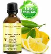 LEMON (Mediterranean) ESSENTIAL OIL. 100% Pure Therapeutic Grade, Premium Quality, Undiluted. 1 Fl.oz.- 30 ml.