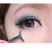 OVERMAL Women Beauty Tools Multifunctional False Eyelashes Aid Stainless Steel Clip Forceps