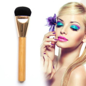 Cool7 1PC Wooden Multi-Function Blush Brush Foundation Makeup Tool