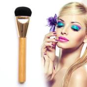 Cool7 1PC Wooden Multi-Function Blush Brush Foundation Makeup Tool