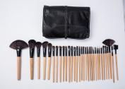LaiFeiYa - 32 pcs Makeup Brush Set Professional Cosmetic Brush Set with Case - Fan Brush Makeup - Rouge Brush - Makeup Blusher Brush Set - Makeup Eye Brush Set/Eye Brushes Set