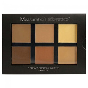 Measurable Difference 6 Cream Contour Palette